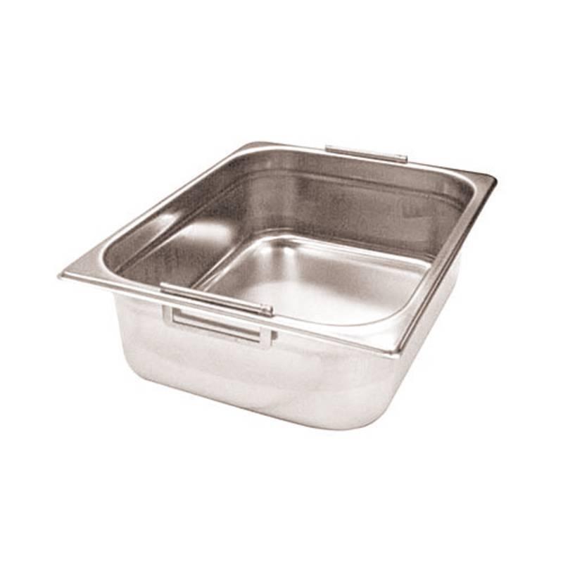 Food pan retractable handles GN 2/3 - GN series 14700 polypropylene