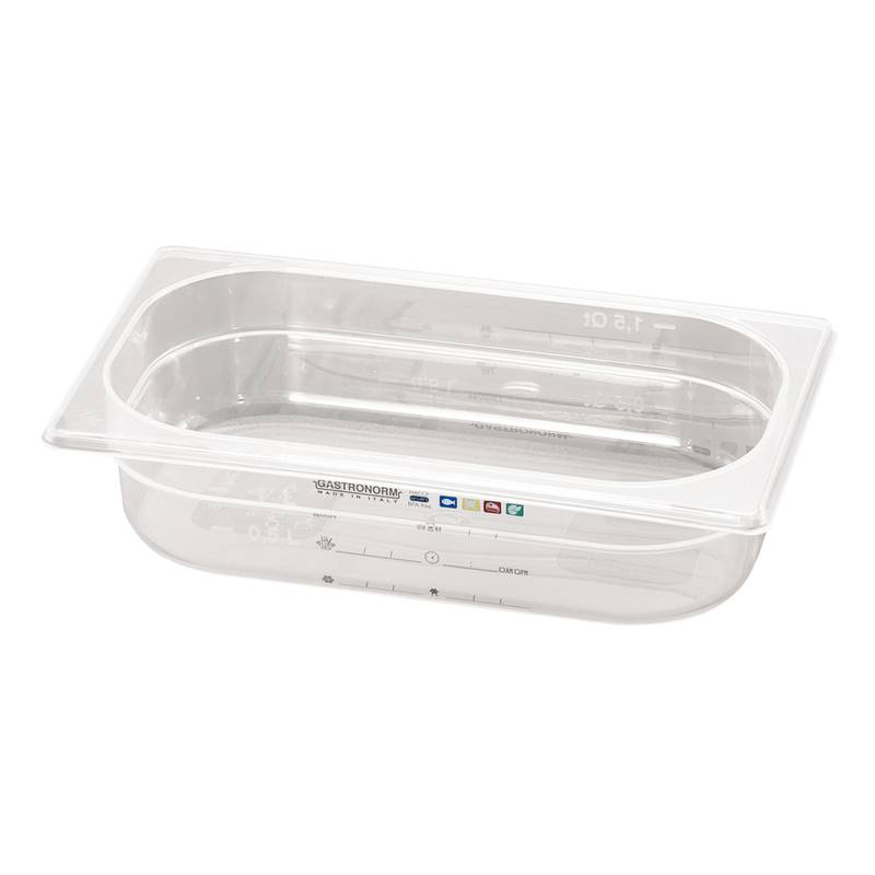 Food pan GN 1/9 - GN series 14900 polypropylene