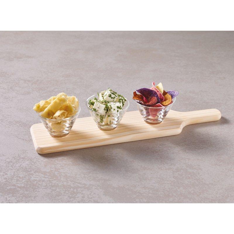 Set 4 pezzi aperitivo/degustazione - Accessori tavola