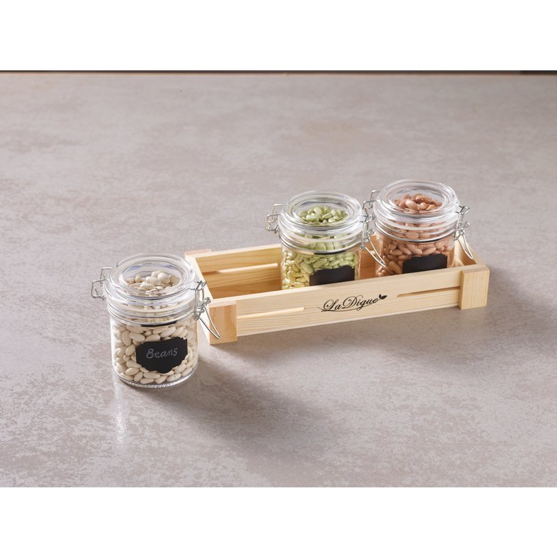 Canning jar, 4 pcs set - Tabletop accessories