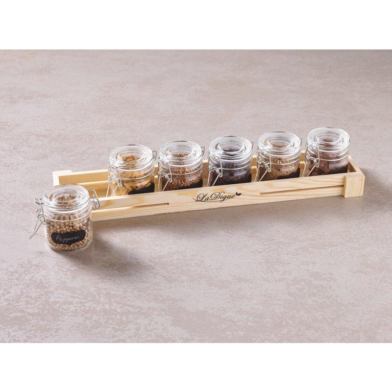 Canning jar, 7 pcs set - Tabletop accessories