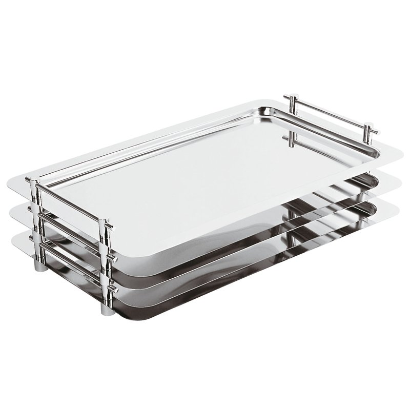 Tray, stackable - Trays