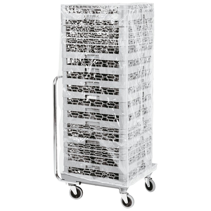 Zippered plastic cover - Storage - carts