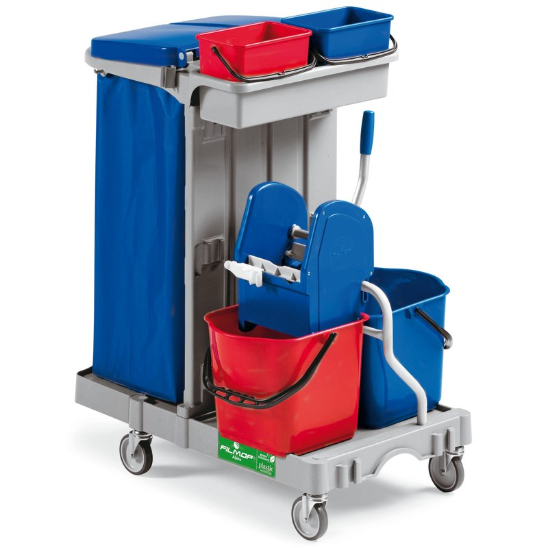 Multi-purpose trolley, cleaning - Cleaning items
