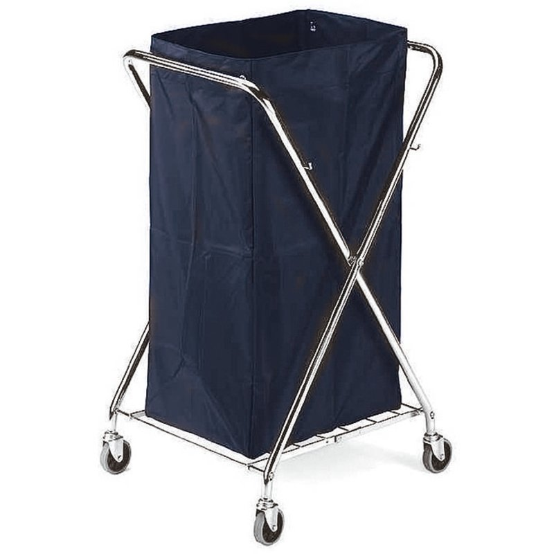 Housekeeping cart for linen collection - Cleaning items