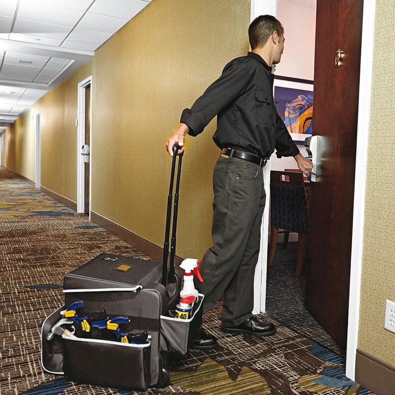 Housekeeping trolley - Cleaning items