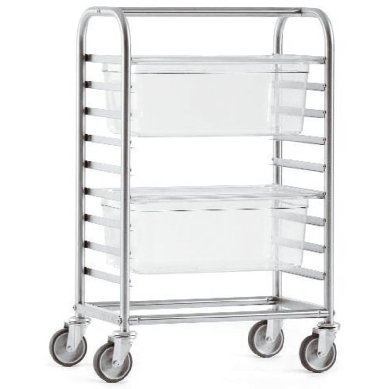 Gastronorm rack trolley - Storage - carts