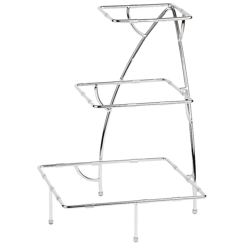 Service stand, chrome plated - Appetizers