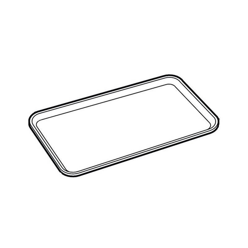 Buffet tray - GN series 44850 plexiglass