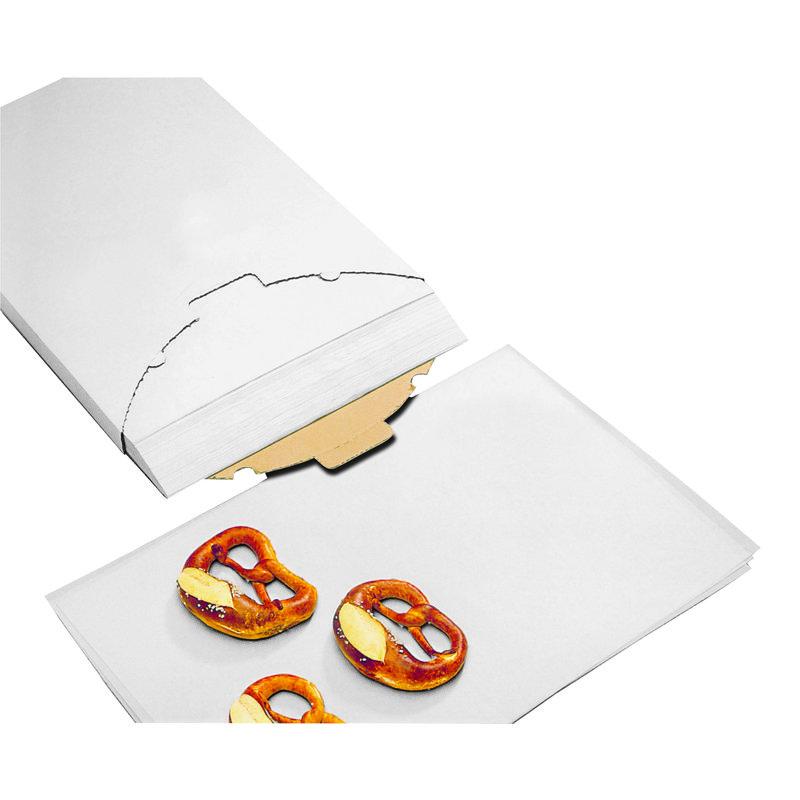 Carta da forno siliconata, 500 fogli - Utensili pasticceria