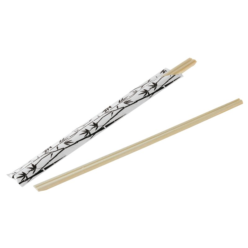 Bamboo chopsticks, disposable, 50 pairs - Ethnic cuisine - Serving items