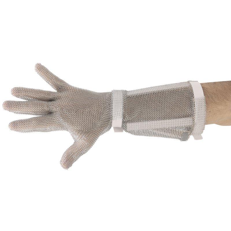Guanto lungo in cotta di maglia - Complementari coltelleria