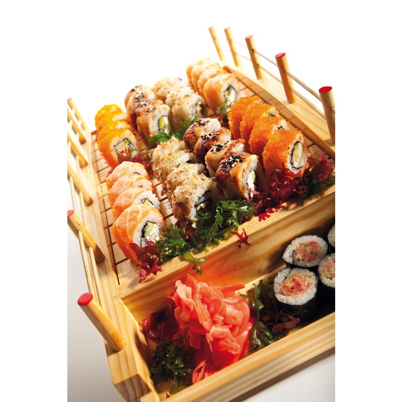 Sushi tray - Ethnic cuisine - Serving items