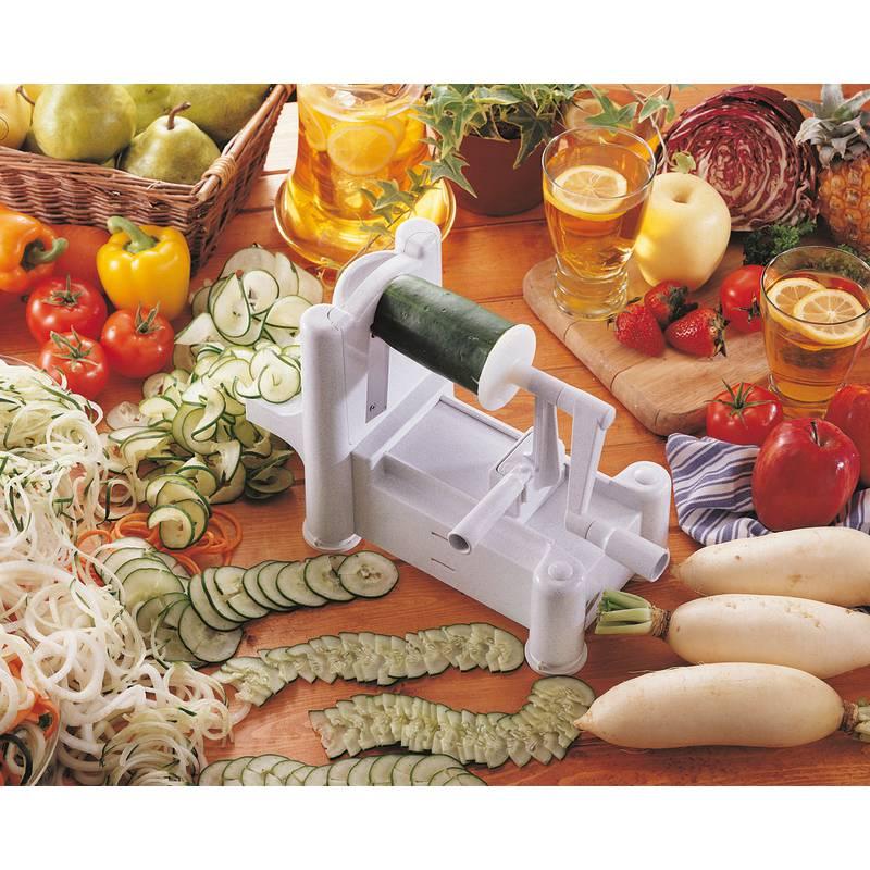 3-blade spiral vegetable slicer - Spiralizer