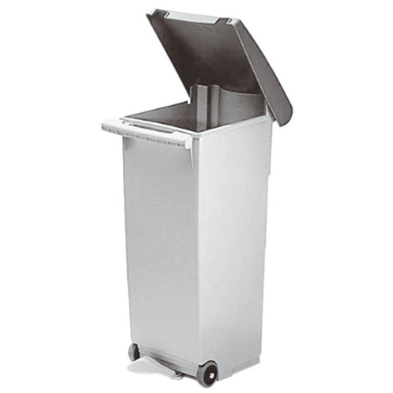 Pedal bin, fire-proof - Waste collection