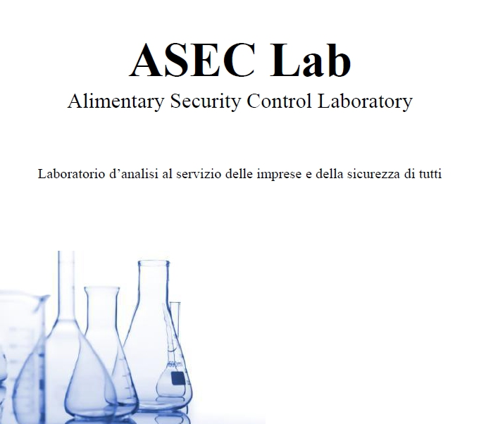 ASEC LAB - Alimentary Security Control Laboratory